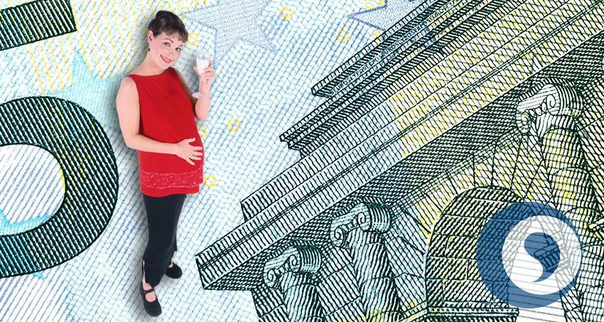 Geld und schwanger sein