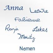 Die Suche nach dem richtigen Namen